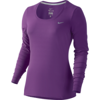 Nike Dri-FIT Contour Long Sleeve Top Womens