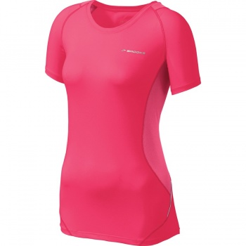 Brooks Equilibrium Short Sleeve Top  Womens