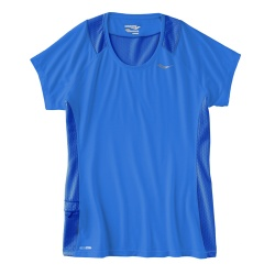 Saucony Freedom Short Sleeve  Top  Womens