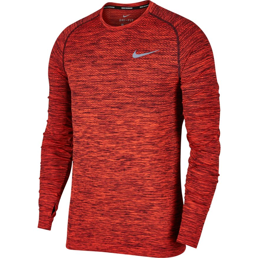 Nike Dri Fit Knit Ls Top Forrunnersbyrunners