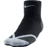 Nike Elite Running Cushion QTR Sock
